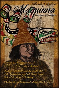 Philip Cote Poster Maquinna 24x36