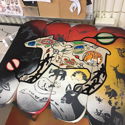 Oasis Skateboard Factory Board