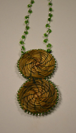 Six Nations Weaving with Sweetgrass 05