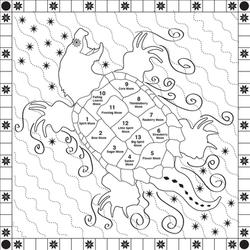 TurtleBack Quilt Design