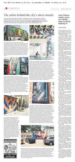Globe and Mail August 6
