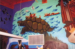 14 Creation Story Mural