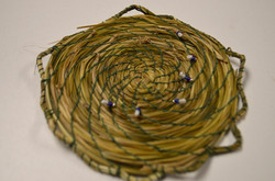 Six Nations Weaving with Sweetgrass 02