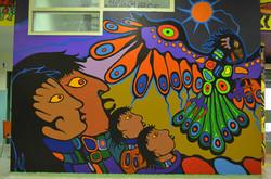 Philip Cote  Underworld Mural 02 Cedarbrae TDSB