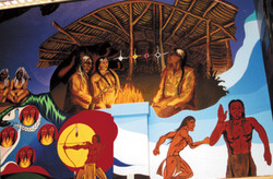 12 Creation Story Mural