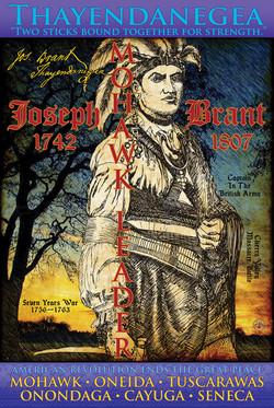 Philip Cote Poster Joseph Brant 24x36