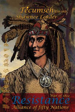 Philip Cote Poster Tecumseh TWO 24x36