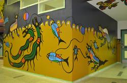 Philip Cote  Underworld Mural 05 Cedarbrae TDSB