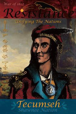 Philip Cote Poster  Tecumseh 01