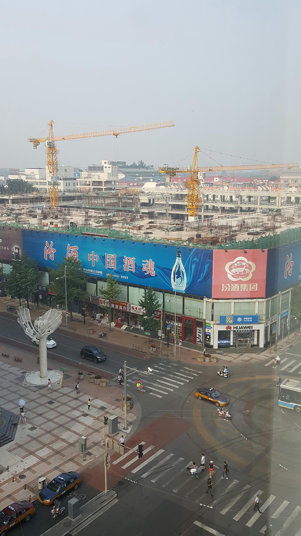 China - constantly under construction
