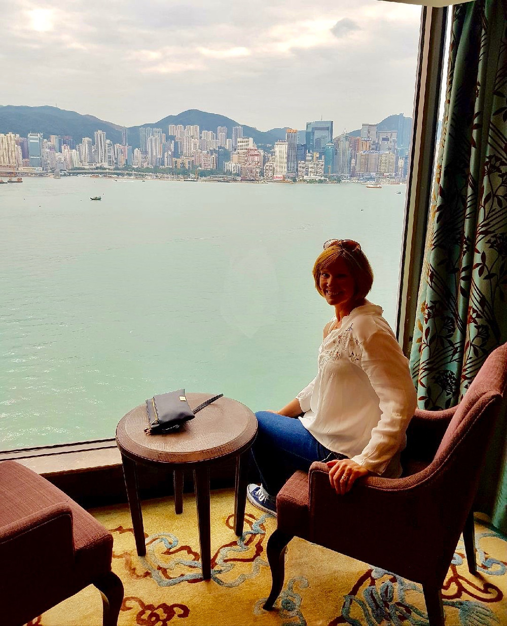I could get used to this Hong Kong life.