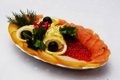 Рыбная тарелка 130 гр.