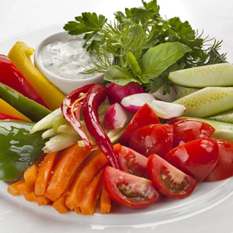 Овощная тарелка 250 гр.