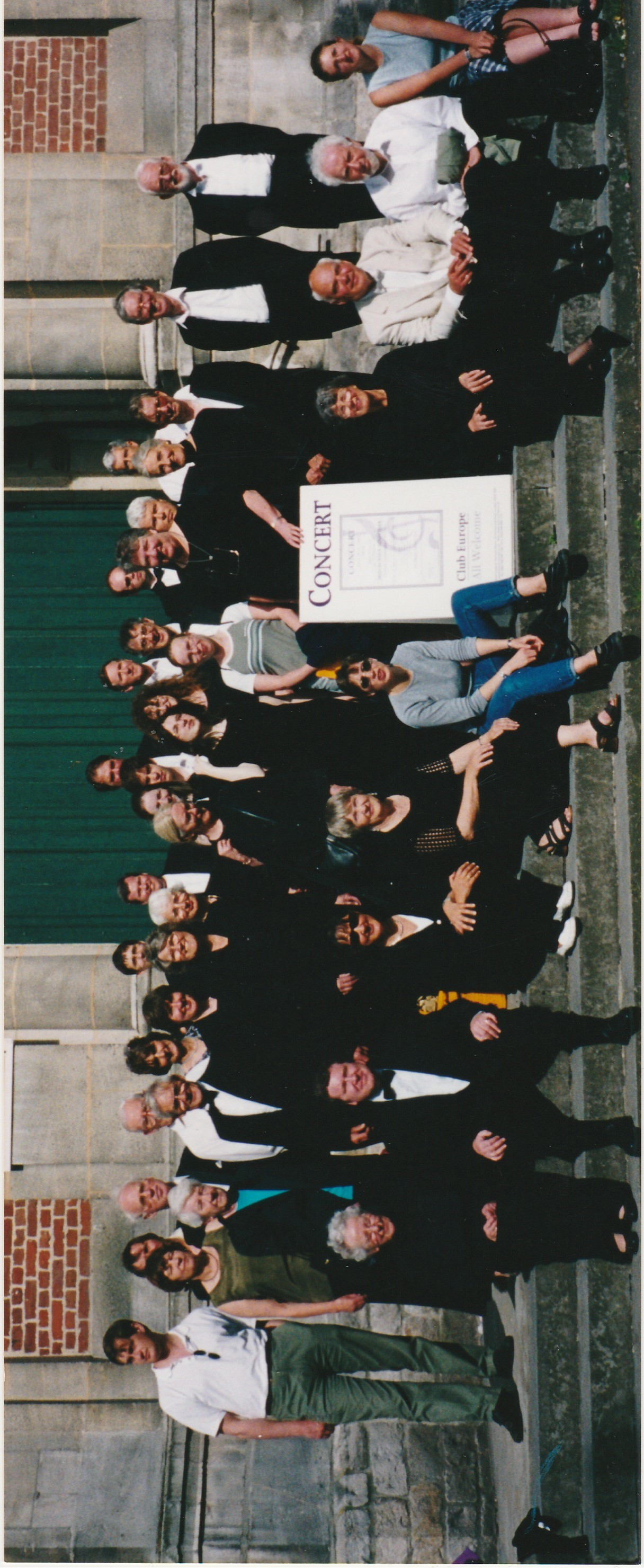 Tour to France and Belgium 2001