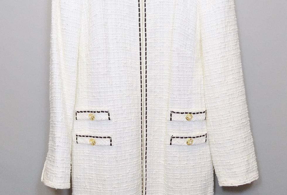 Удлиннённый пиджак EDWARD ACHOUR PARIS
