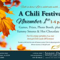 Chili Festival Invitation