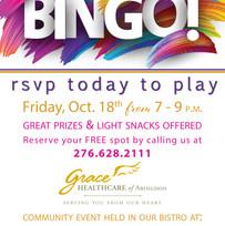 BINGO Invitation