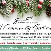 Community Gathering Invitation