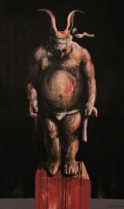 Figura con antifaz, 2013
