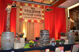 Themed Stage Decor