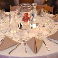 AAF Gala Tables Centerpieces