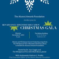 Christmas Gala Invitation