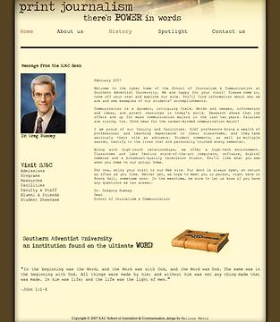 SAU Website SJ&C Mock-Up 2_2008.tiff