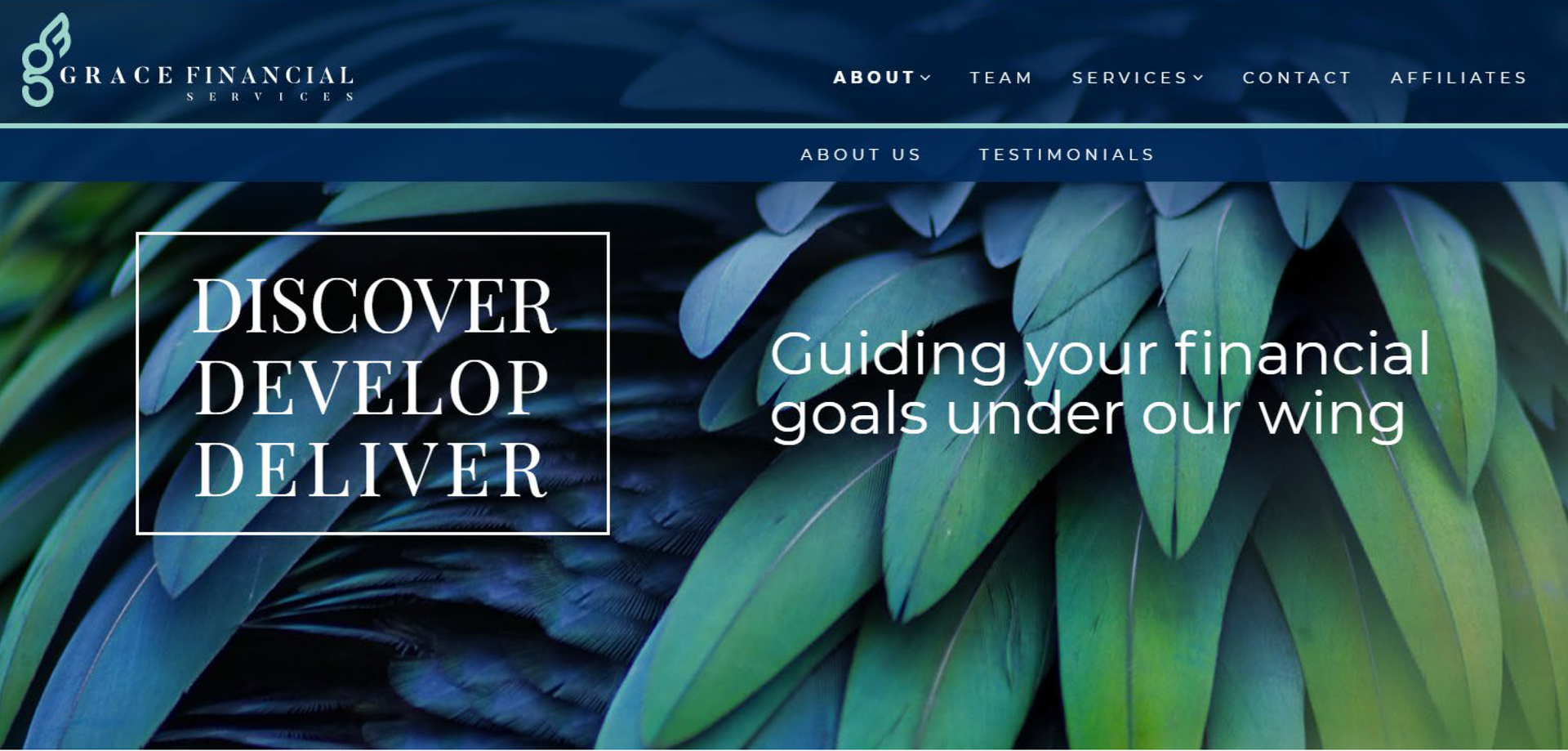 GFS Home Page Nav Bar