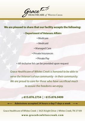 Veterans Benefits Info Card