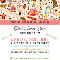 Vendor Fair Announcement