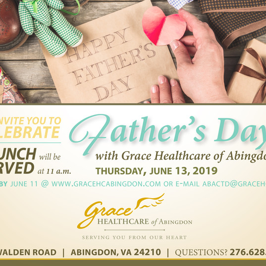 Father's Day Brunch Invitation