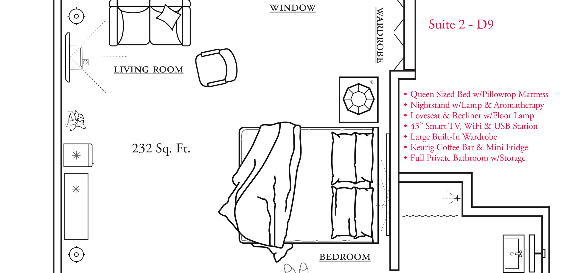 Suite Life Assisted Living Floor Plan