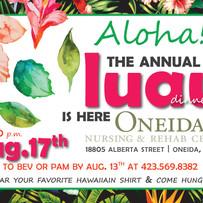 Luau Invitation