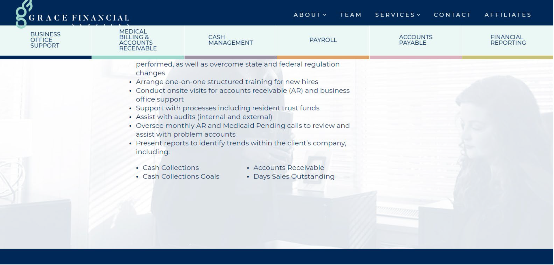 GFS Our Services Page