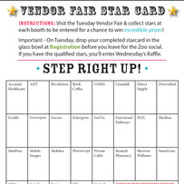 Vendor Fair Star Card