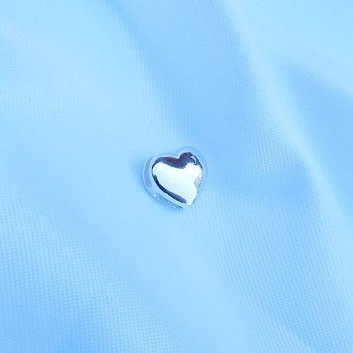 Pingente coração com meia Lua.