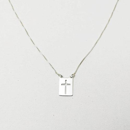 Corrente crucifixo.