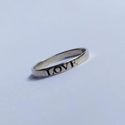 Anel Love / Hope / Faith.