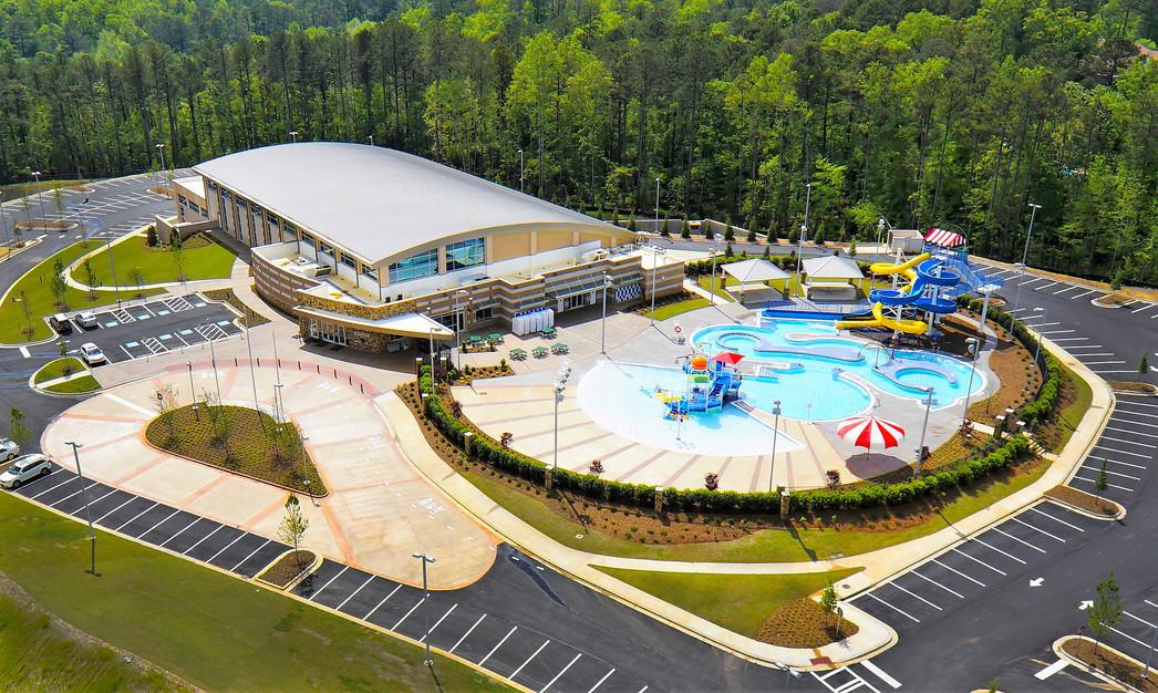 Cherokee County Aquatic Ctr - Exterior (