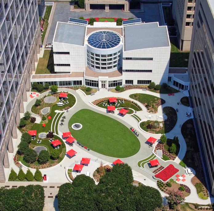 Coke Courtyard
