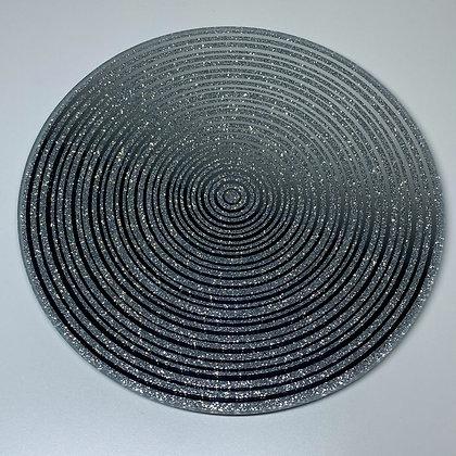 Glitter Glass Wax Burner Tray