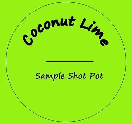 24g Coconut Lime Shot Pot