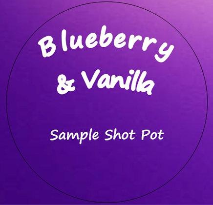 24g Blueberry & Vanilla Shot Pot