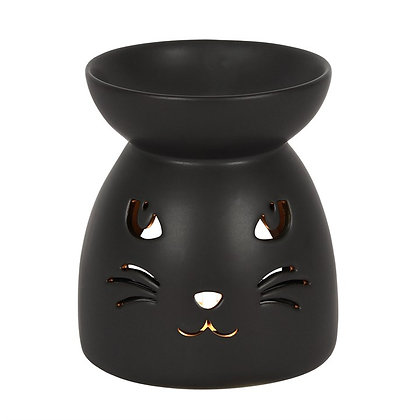Black Cat Tealight Burner