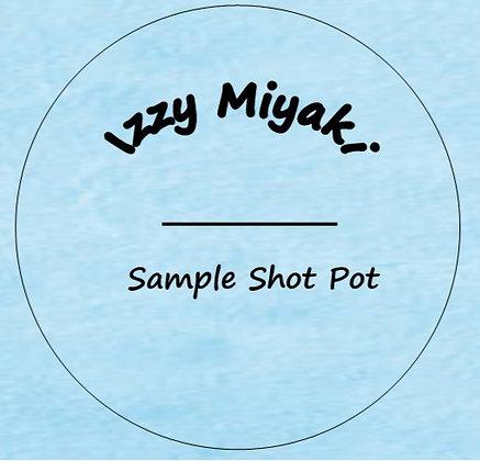 24g Izzy Miyaki For Him Shot Pot