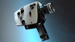 3D Visualisierung Kamera