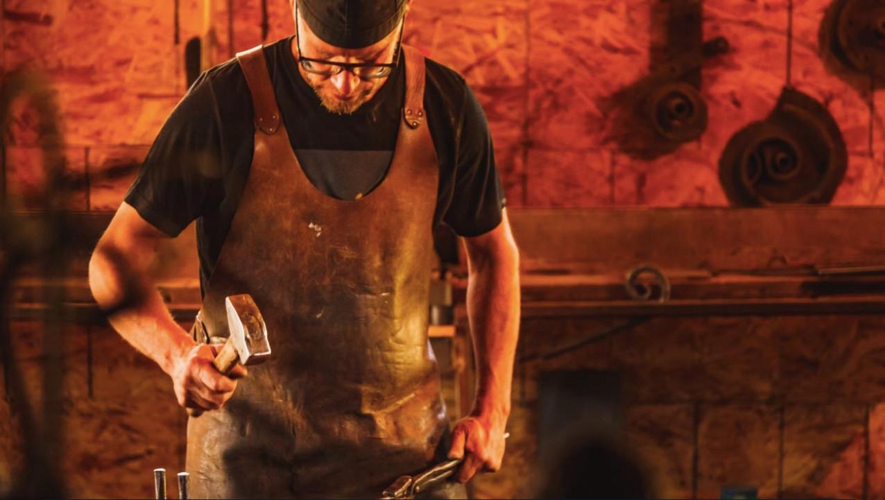 Blacksmith in Studio