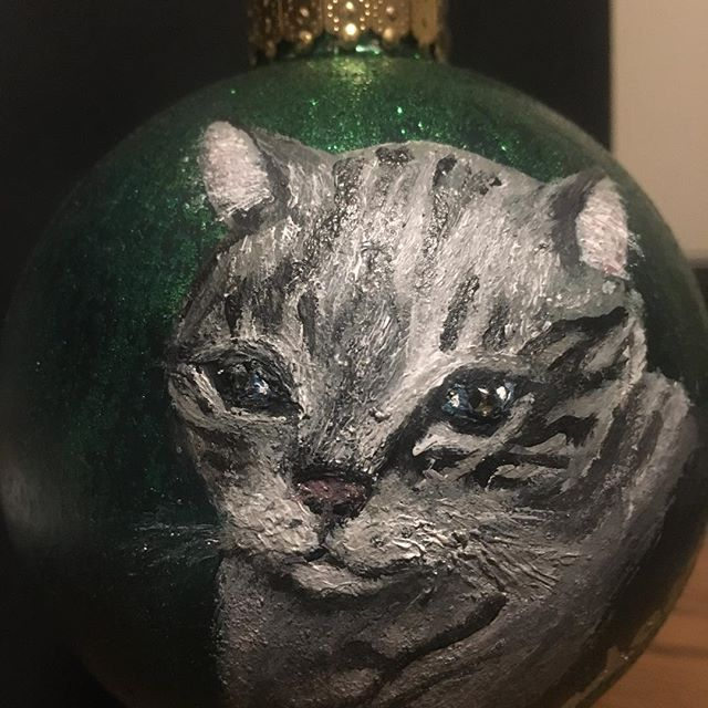 Hand-painted custom year-round ornaments