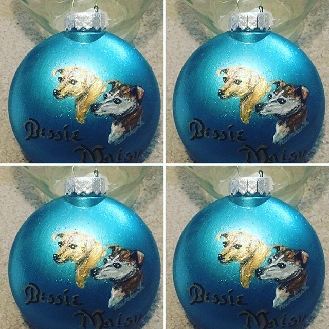 Custom ornaments $40 per bulb
