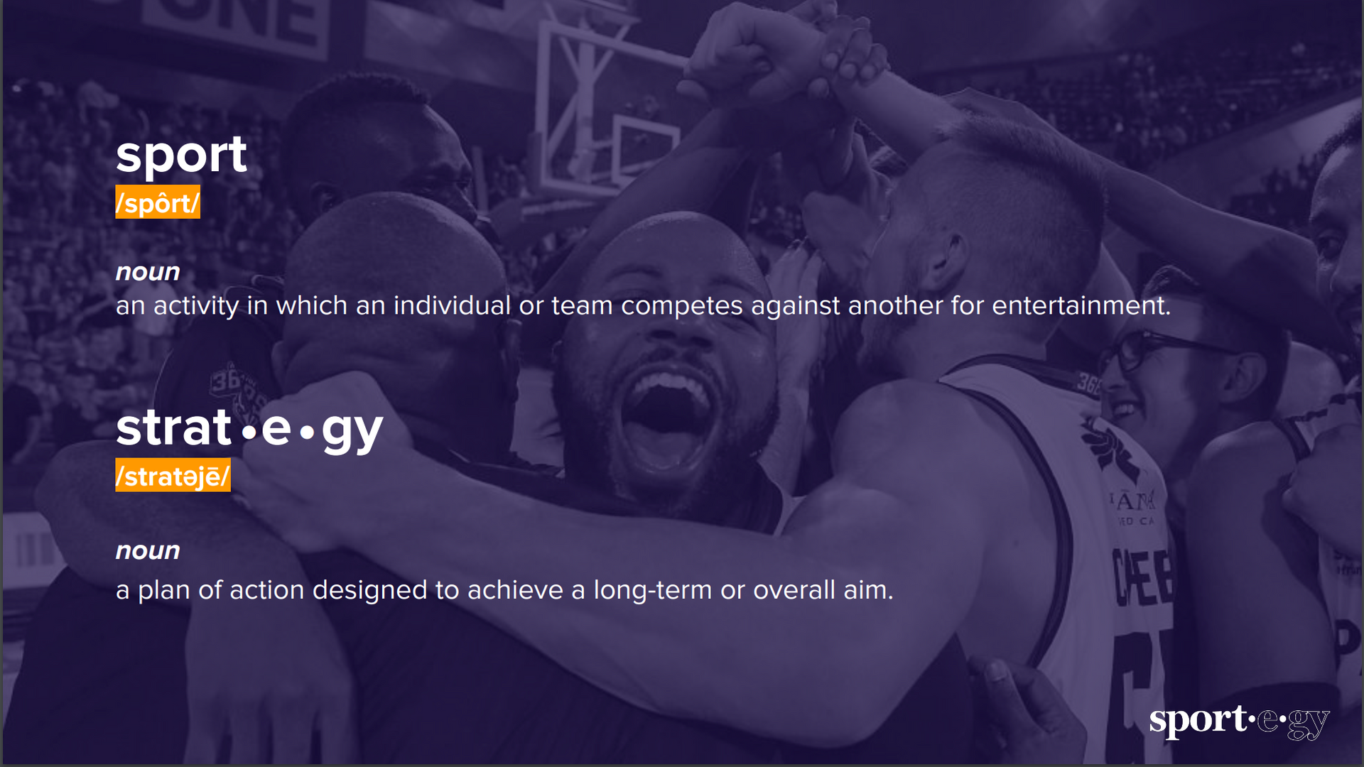 sport + strategy